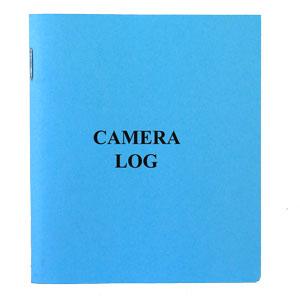 """Camera Log Book 4X4 3/4"""" Blue"""