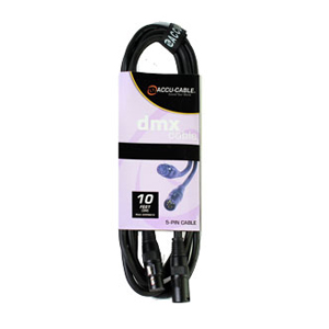 DMX Cable 10' - 5Pin