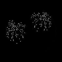 Gobo Set July Fourth Fireworks