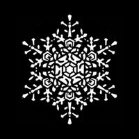 Snowflake Medium Lace