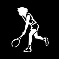 Sports Woman Tennis