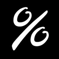 Sign - Percent