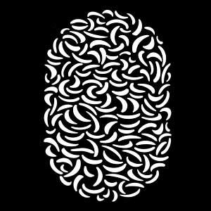 Banana Madness - Vertical Pattern