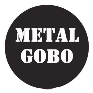 Custom Apollo Metal Pattern Duplicate Gobo