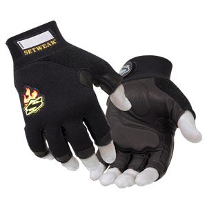 Small - 3/4 FingerlessGloves