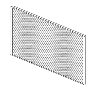 """Eggcrate for De-Lux 4X55W (1/4"""")"""