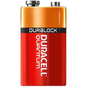 QU1604 - Duracell Quantum 9V Battery