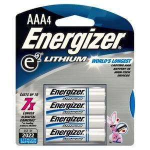 L92BP-4 - Battery AAA Lithium, 4PK