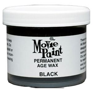 3.5oz Black Permanent Wax