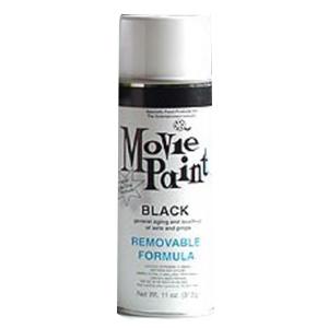 11oz Black Removable Spray