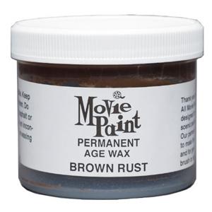 3.5oz Brown Rust Permanent Wax