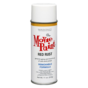 11oz Red Rust Removable Spray