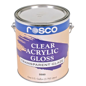 5580 Clear Gloss (Acrylic Glazes)