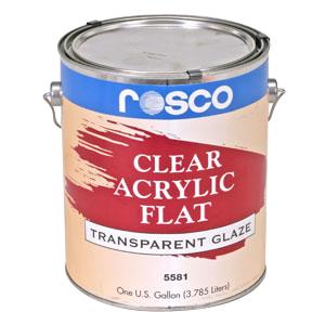 5581 Clear Flat (Acrylic Glazes)