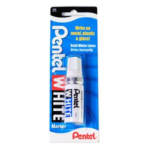 Pentel White Marker-Wide Tip