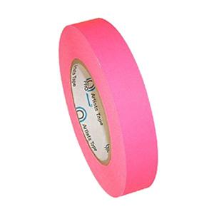 Fluorescent Pink Artist Tape