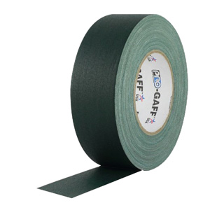 "Pro Gaff 4"" 55YD Green Gaffers Tape"