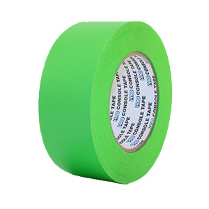 """Green Console Paper Tape 2""""X60YD"""