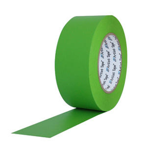"""Green Console Paper Tape 1/2""""X60YD"""