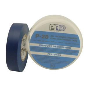 Pro P28 3/4X66ft Blue Premium Vinyl Electrical Tape