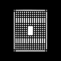 Patterned Grate