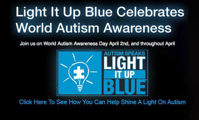 Are you ready to Light It Up Blue for Autism Awareness day this year?