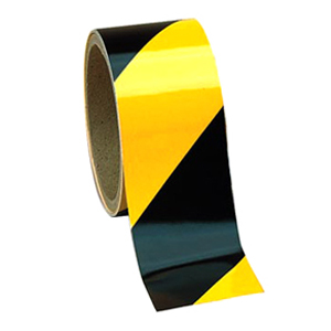 Safety Tape Black/Yellow 2X18YD